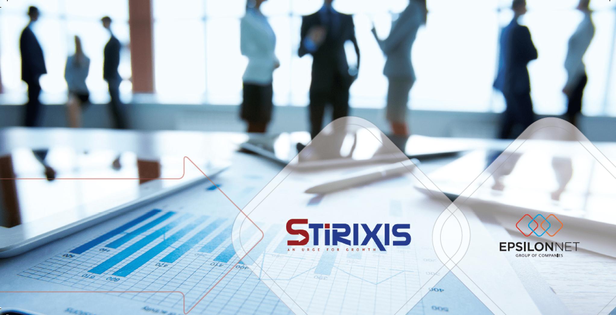 Δελτίο Τύπου – Η Stirixis Goldpartner της Epsilon Net για έβδομη συνεχόμενη χρονιά!