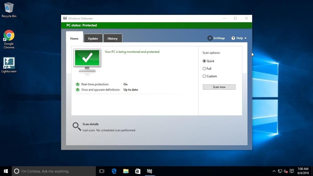 Η Microsoft επιδιόρθωσε κρίσιμο σφάλμα στo Windows Defender
